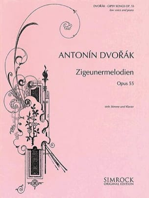 DVORAK - Zigeunermelodien Opus 55. Serious voice - Sheet Music - di-arezzo.co.uk
