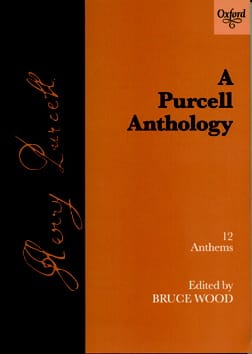 12 Anthems Henry Purcell Partition Chœur - laflutedepan