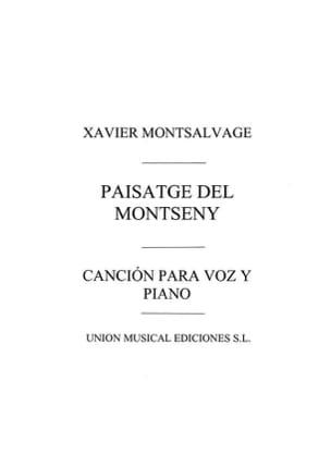 Paisatge Del Montseny - Xavier Montsalvatge - laflutedepan.com