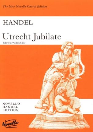 Georg-Friedrich Haendel - Utrecht Jubilate - Partition - di-arezzo.fr