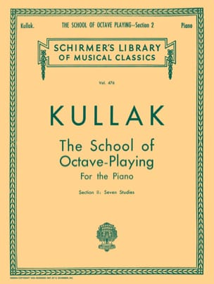 Theodor Kullak - L'école des Octaves. Volume 2 - Partition - di-arezzo.fr