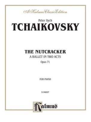 TCHAIKOWSKY - Nutcracker Opus 71 - Sheet Music - di-arezzo.com