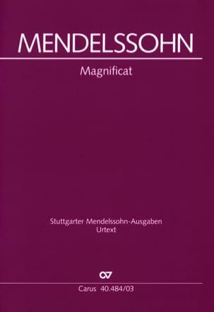 MENDELSSOHN - Magnificat - Sheet Music - di-arezzo.co.uk