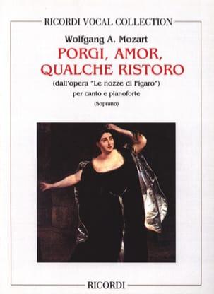 MOZART - Porgi Amor. Nozze Di Figaro - Partition - di-arezzo.fr