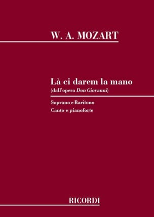 MOZART - There Ci Darem la Mano. Don Giovanni - Partition - di-arezzo.co.uk