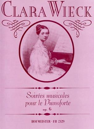 Clara Schumann - Musical Evenings Opus 6 - Sheet Music - di-arezzo.co.uk