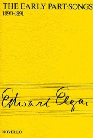 ELGAR - The Early Part-Songs - Sheet Music - di-arezzo.com