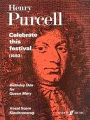 Celebrate This Festival PURCELL Partition Chœur - laflutedepan