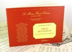 Jean-Philippe Rameau - Pièces De Clavecin Avec Table Pour les Agréments - Partition - di-arezzo.fr