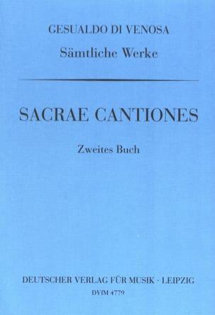 di Venosa, Carlo Gesualdo - Sacrae Cantiones Volume 2 - Sheet Music - di-arezzo.co.uk