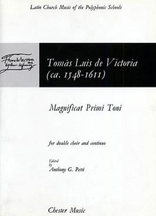 Magnificat Primi Toni Tomas Luis de Victoria Partition laflutedepan