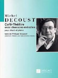 Michel Decoust - Café-Theater - Sheet Music - di-arezzo.co.uk