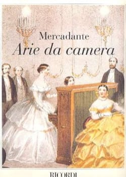 Saverio Mercadante - Arie Da Camera - Partition - di-arezzo.fr