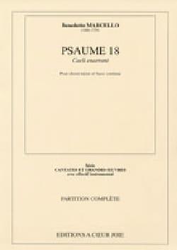 Benedetto Marcello - Psaume 18 : Caeli Enarrant - Partition - di-arezzo.fr