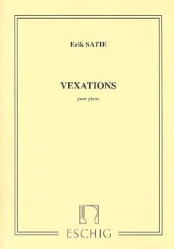 Vexations - SATIE - Partition - Piano - laflutedepan.com