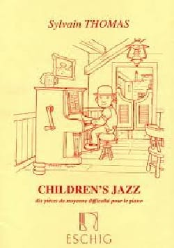 Children's Jazz Sylvain Thomas Partition Piano - laflutedepan