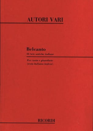 - Bel Canto - Sheet Music - di-arezzo.co.uk