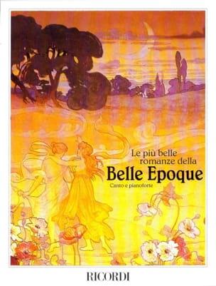- Le Piu Belle Romanze Della Belle Epoque - Partition - di-arezzo.fr