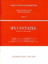 6 Cantates Volume 2 - Partition - laflutedepan.com
