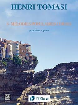 Henri Tomasi - 6 Mélodies Populaires Corses - Partition - di-arezzo.fr