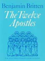 The 12 Apostles - Benjamin Britten - Partition - laflutedepan.com