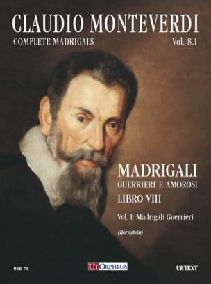 Claudio Monteverdi - Madrigali Libro 8 Volume 1 - Sheet Music - di-arezzo.com
