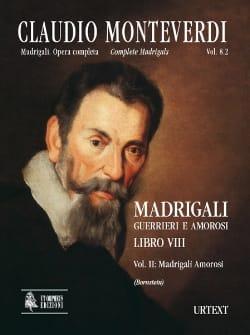 Madrigali Libro 8 Volume 2 - Claudio Monteverdi - laflutedepan.com