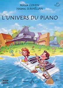 Cohen-Surmélian - L'univers Du Piano Vol 1 - Partition - di-arezzo.fr
