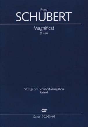 SCHUBERT - Magnificat in C Major D 486 - Sheet Music - di-arezzo.co.uk