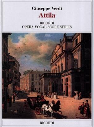 Attila VERDI Partition Opéras - laflutedepan