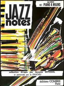 Jazz Notes. 4 Mains - Jean Sichler - Partition - laflutedepan.com