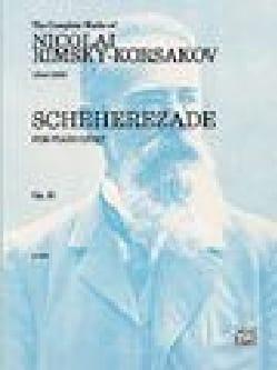 Sheherazade Opus 35. 4 Mains Nicolai Rimsky-Korsakov laflutedepan