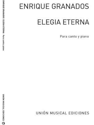 Elegia Eterna - Enrique Granados - Partition - laflutedepan.com