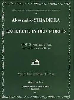 Alessandro Stradella - Exultate In Deo Fideles - Partition - di-arezzo.fr