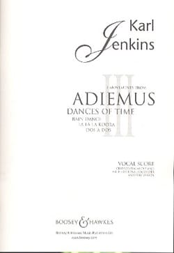 Karl Jenkins - 3 Movements From Adiemus Dances Of Time - Partition - di-arezzo.fr