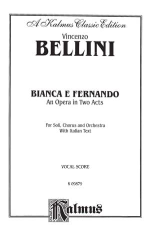 Vincenzo Bellini - Bianca E Fernando - Noten - di-arezzo.de