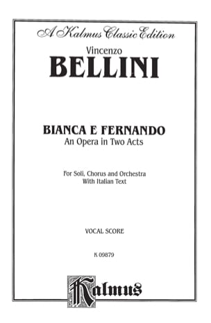 Vincenzo Bellini - ビアンカEフェルナンド - 楽譜 - di-arezzo.jp