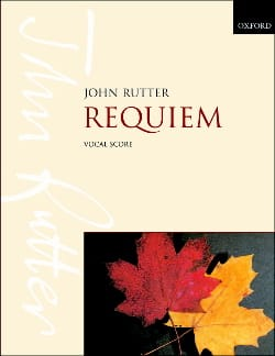 John Rutter - Requiem - Sheet Music - di-arezzo.co.uk