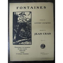 Jean Cras - fuentes - Partitura - di-arezzo.es