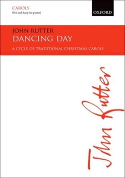John Rutter - Dancing Day - Partition - di-arezzo.fr
