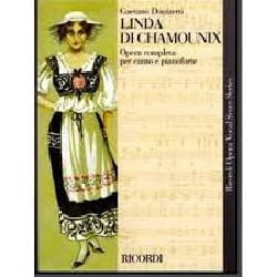Gaetano Donizetti - Linda Di Chamounix - Sheet Music - di-arezzo.co.uk