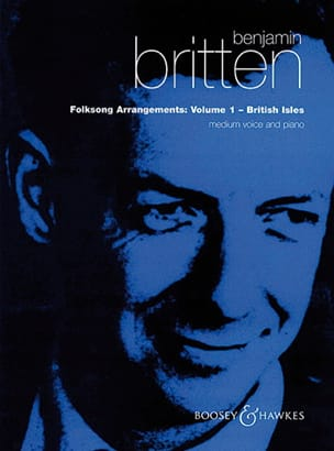 Benjamin Britten - Folksongs Volume 1 Voix Moyenne British Isles - Partition - di-arezzo.fr