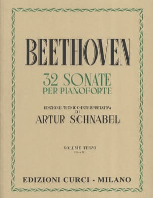 Ludwig van Beethoven - Sonates Volume 3 - Partition - di-arezzo.fr