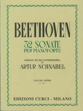 Sonates Volume 1 BEETHOVEN Partition Piano - laflutedepan