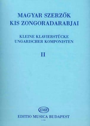 - Kleine Klavierstucke Ungarischer Komponisten Volume 2 - Partition - di-arezzo.fr