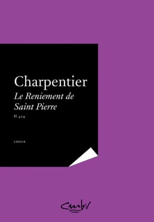 Marc-Antoine Charpentier - The Denial of St. Peter H 424 - Partition - di-arezzo.co.uk