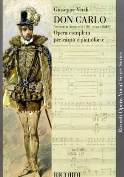 VERDI - Don Carlo Version In 5 Acts - Sheet Music - di-arezzo.com