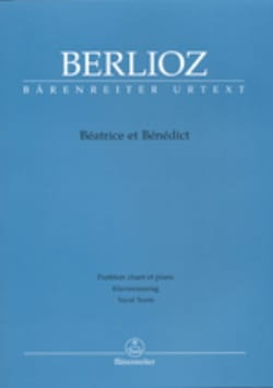 BERLIOZ - Beatrice and Benedict - Partition - di-arezzo.co.uk