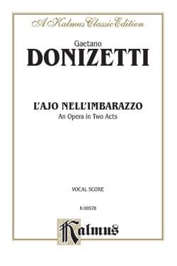 L'ajo Nell'imbarazzo - Gaetano Donizetti - laflutedepan.com