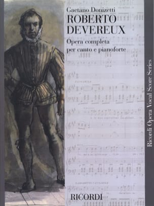 Roberto Devereux DONIZETTI Partition Opéras - laflutedepan